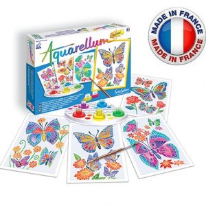 SentoSphère – Aquarellum Junior – Papillons et fleurs – 6500 – Made in France