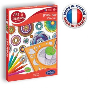 SentoSphère – Art & créations – Spiral' art – Mandalas – 2081 – Made in France