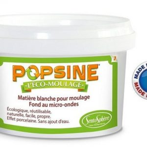 SentoSphère – Popsine – recharge pot 400 g – 2620 – Made in France