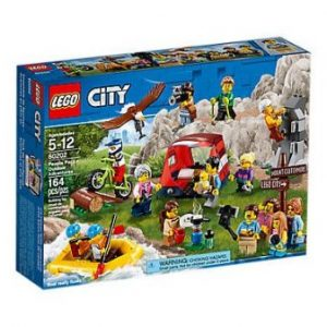 Lego – City – Ensemble de figurines – Les aventures en plein air – 60202