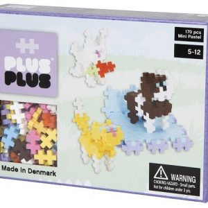 Plus Plus – Puzzle Box Mini Pastel animaux 170 – PP3727