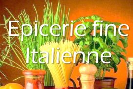 epicerie italienne