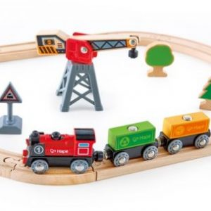 Hape – Circuit du train de marchandise – E3731