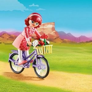 Playmobil – Maricela et bicyclette – Spirit – 70124
