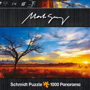 Schmidt spiele – puzzle panorama 1000 pièces – Desert Oak at Sunset – 59287