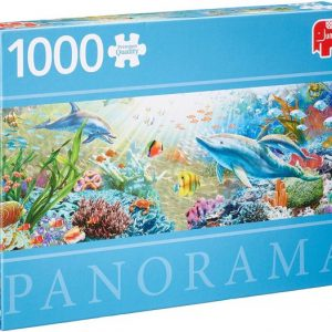 Diset Jumbo – Puzzle panorama Water Paradise – 1000 pièces – 18519