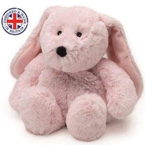 Soframar – Bouillotte sèche Lapin rose Cozy Peluche – AR0239 – Made in england