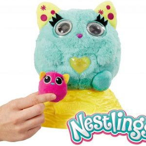Goliath – Nestlings Turquoise – Peluche interactive – 32241