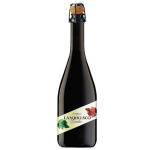 Lambrusco rouge doux 75cl