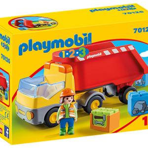Camion benne – Playmobil 1 2 3 – 70126