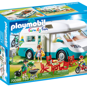 Famille et camping-car – Playmobil City life – 70088