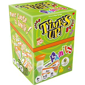 Time's Up Family ! – Repos production – Asmodee – TUF1-FR02