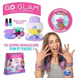 Cool maker – Go glam nail stamper deluxe – Spin master – 6054791