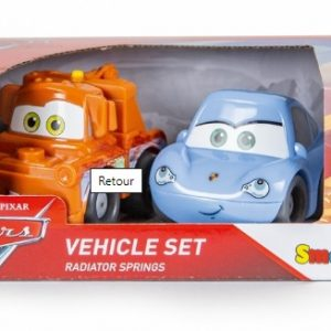 Smoby – Vroom Planet Coffret 2 véhicules Cars – 120219