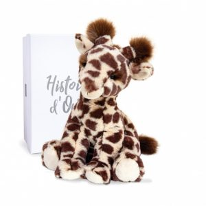 Peluche Girafe Lisi – Terre sauvage – 30 cm – Histoire d'ours – HO3040