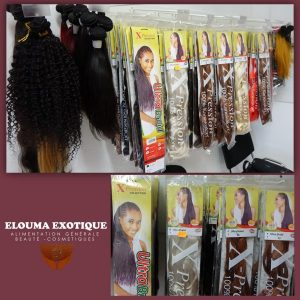 Rajouts, tresses Africaines