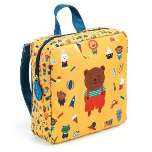 Sac à dos – sac maternelle ours – Djeco – DD00251