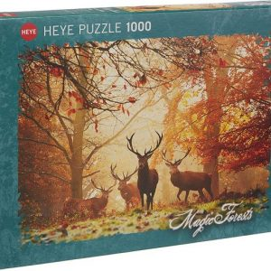 Puzzle 1000 pièces – Magic forests – HEYE – 29805