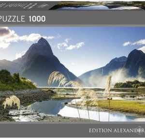 Puzzle 1000 pièces – Panorama Milford sound – HEYE – 29606