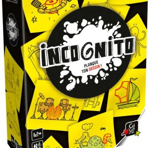 Incognito – Jeu d'ambiance – Gigamic – GFIN